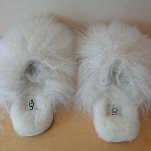 UGG Australia Fluff Momma Mongolian Slippers NEW